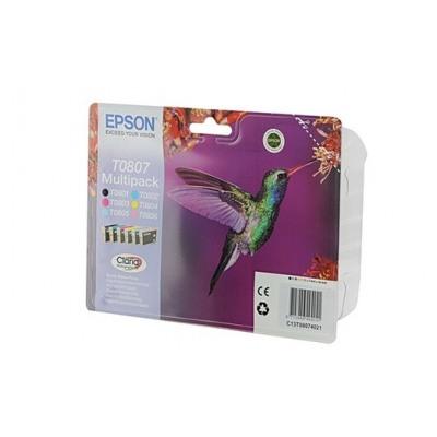 Epson Colibri T0807 6 couleurs