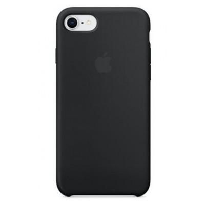 Apple Coque en silicone pour iPhone 8 / 7 - Noir