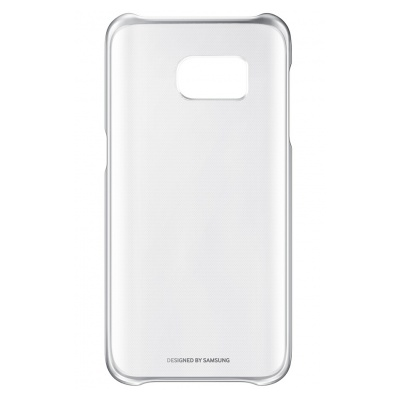 Samsung COQUE CLEAR COVER ARGENT POUR SAMSUNG GALAXY S7