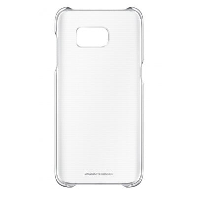 Samsung COQUE CLEAR COVER ARGENT POUR SAMSUNG GALAXY S7 EDGE