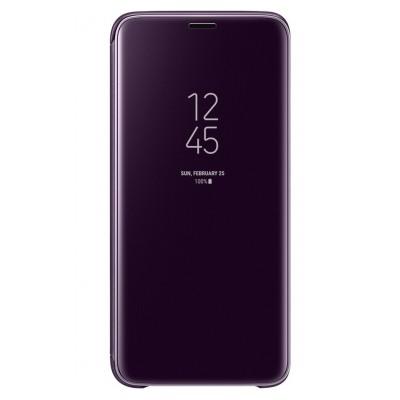 Samsung Etui Clear View pour GALAXY S9 VIOLET