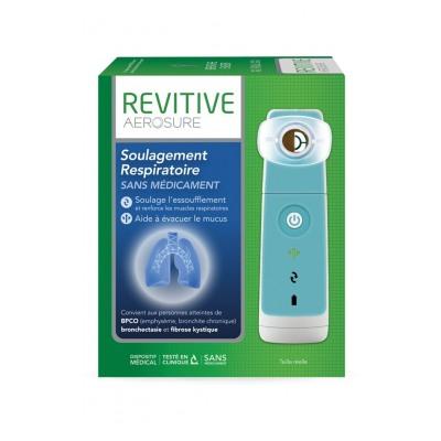 Revitive Aerosure appareil d'aide a la respiration