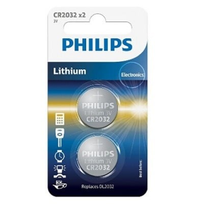 Philips PILES CR2032 X2