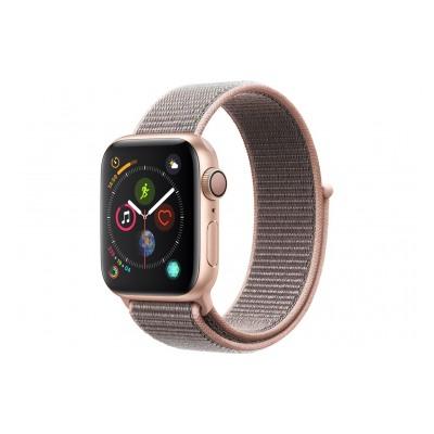 Apple Watch Série 4 GPS 40mm Boîtier en aluminium or avec Boucle Sport rose des sables