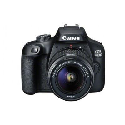 Canon EOS 4000D Noir + EF-S 18-55 mm f/3.5-5.6 III