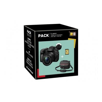 Panasonic PACK G80 + 12-60/3,5-5,6 + SACOCHE + SD16GO