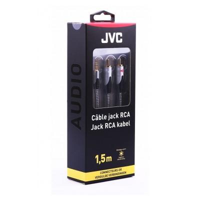 Jvc JACK 3,5MM/2RCA 1,5M