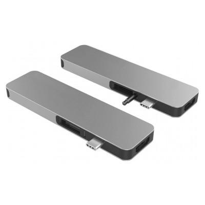 Hyperdrive Solo Hub 7 en 1 MacBook & USB-C - Gris