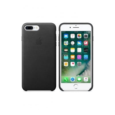 Apple CASE LEA IPHP7 BLACK