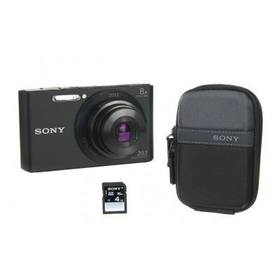 Sony DSC-W830 NOIR+ETUI+4GO