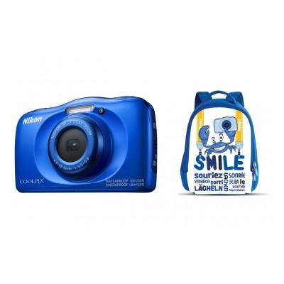 Nikon COOLPIX W100 BLEU PACK SAC A DOS