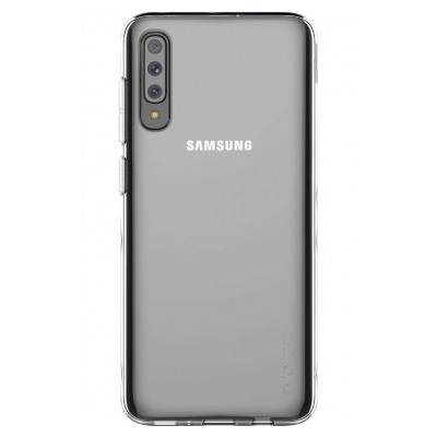 Samsung Coque arriere Designed for SAMSUNG Galaxy A70 Transparent