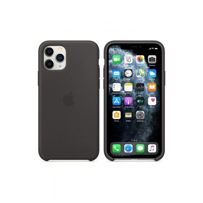 Apple Coque en silicone pour iPhone11 Pro - Noir