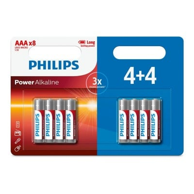 Philips PACK PILES LR3 4+4