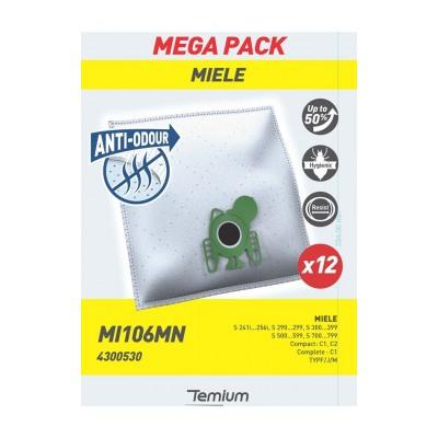 Temium MI106MN ANTI-ODEUR 12 SACS